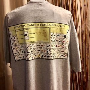 Columbia Periodic Table of Lures & Flies XXL T
